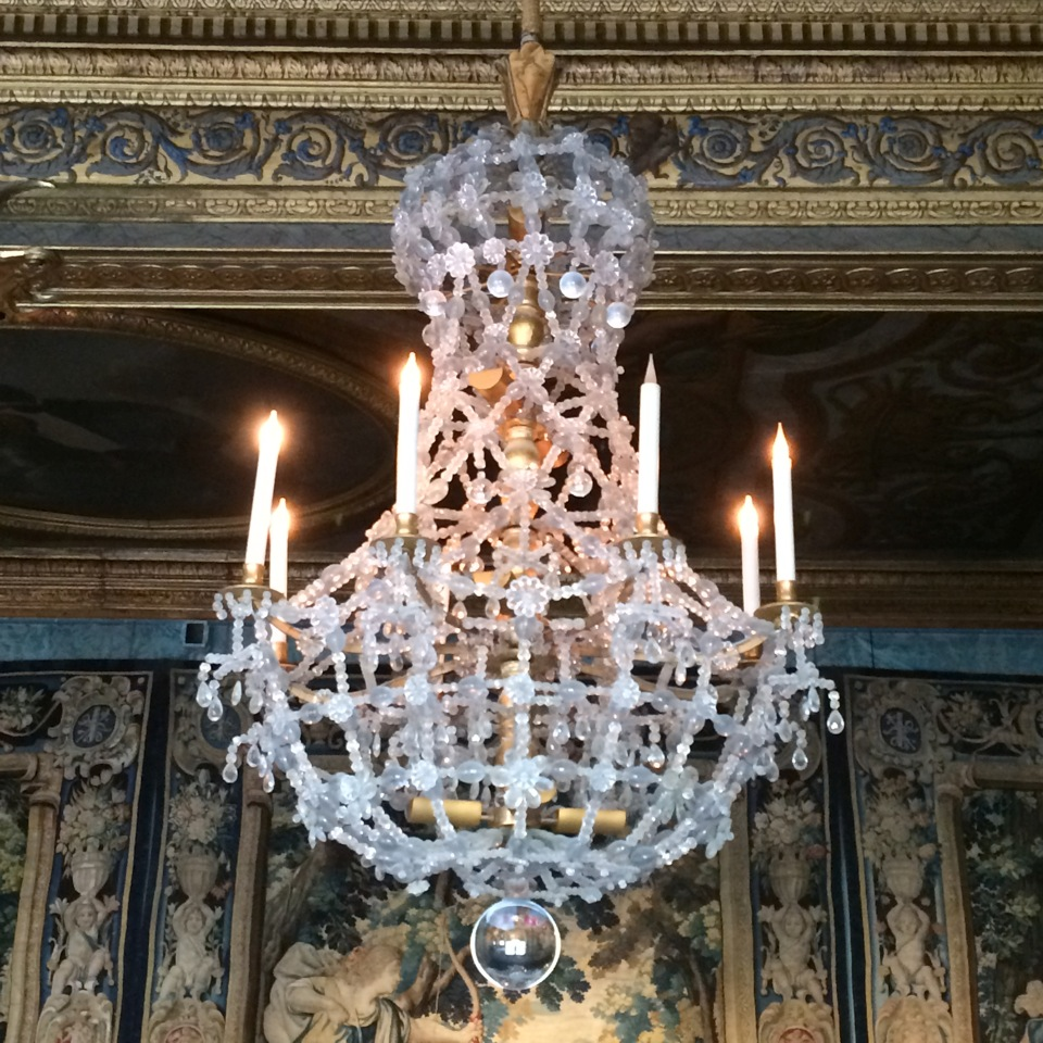 Chandeliers observed by Roger Thomas.